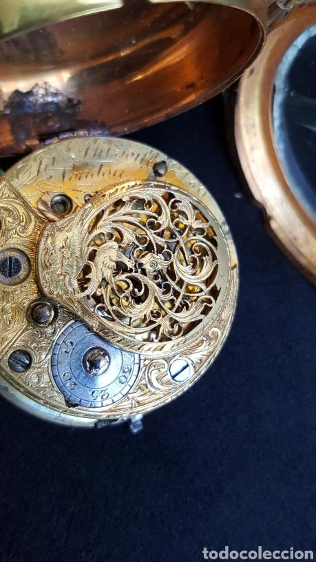 Relojes de bolsillo: RELOJ DE BOLSILLO F. SHIRWILL LONDON SIGLO XVIII - Foto 7 - 134763773