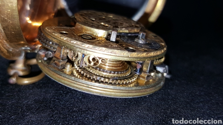 Relojes de bolsillo: RELOJ DE BOLSILLO F. SHIRWILL LONDON SIGLO XVIII - Foto 9 - 134763773