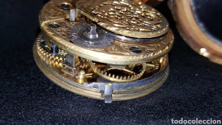 Relojes de bolsillo: RELOJ DE BOLSILLO F. SHIRWILL LONDON SIGLO XVIII - Foto 10 - 134763773