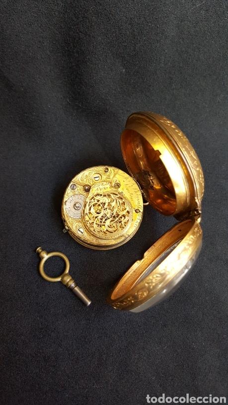 Relojes de bolsillo: RELOJ DE BOLSILLO F. SHIRWILL LONDON SIGLO XVIII - Foto 11 - 134763773
