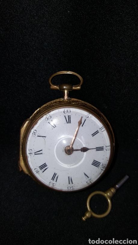 Relojes de bolsillo: RELOJ DE BOLSILLO F. SHIRWILL LONDON SIGLO XVIII - Foto 24 - 134763773