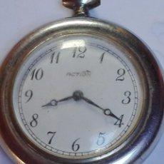 Relojes de bolsillo: RELOJ ACTION FUNCIONANDO. Lote 134919662