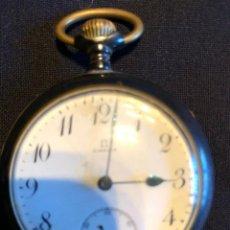 Relojes de bolsillo: OMEGA ESFERA PORCELANA. Lote 134926206