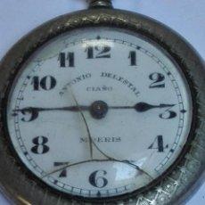 Relojes de bolsillo: RELOJ MOERIS ANTONIO DELESTAL CIAÑO. Lote 144618674