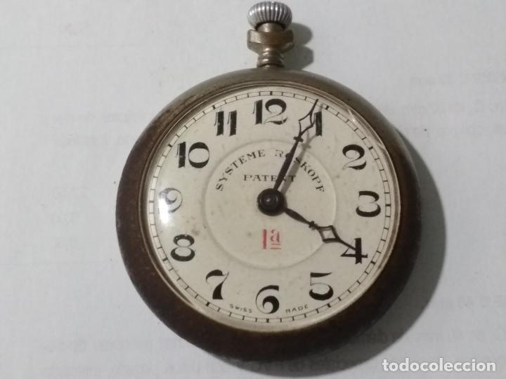 RELOJ DE BOLSILLO SISTEMA ROSKOPF 1ª, MEDIDA 50 MM, ESTA FUNCIONANDO (Relojes - Bolsillo Carga Manual)