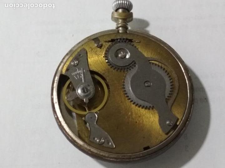 Relojes de bolsillo: RELOJ DE BOLSILLO SISTEMA ROSKOPF 1ª, MEDIDA 50 MM, ESTA FUNCIONANDO - Foto 3 - 135019946