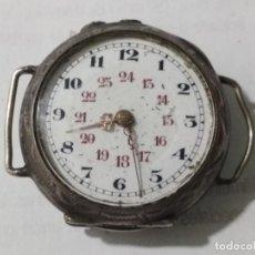 Relojes de bolsillo: RELOJ DE BOLSILLO CAJA LABRADA, MEDIDA 30 MM, NO FUNCIONA. Lote 135020538