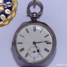 Relojes de bolsillo: ,,,LLAVERO MAQUINA SUIZA,,,PLATA SELLADA DOS TAPAS,,. ( B - 8 ). Lote 96650415