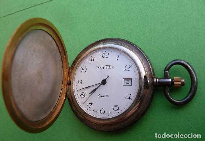 Relojes de bolsillo: Reloj de Bolsillo Thermidor - Foto 5 - 135152034
