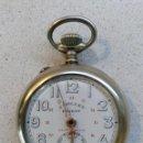 Relojes de bolsillo: RELOJ DE BOLSILLO J. TOLLET CON MOVIMIENTO JAPY CHEMINS DE FER TIPO ROSKOPF - CIRCA 1920. Lote 135602030