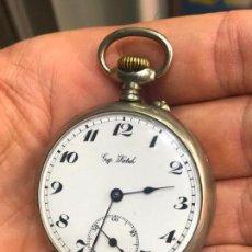 Relojes de bolsillo: RELOJ DE BOLSILLO GYP WATCH EN MUY BUEN ESTADO. FUNCIONANDO. VER FOTOS. Lote 135725735