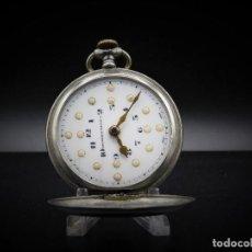 Relojes de bolsillo: TAVANNES WATCH CO.-RELOJ DE BOLSILLO SABONETA-ESFERA BRAILLE-3 TAPAS-FUNCIONANDO. Lote 136060330