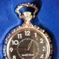 Relojes de bolsillo: RELOJ DE BOLSILLO DE CUERDA, . Lote 136295974