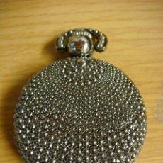 Relojes de bolsillo: RELOJ DE BOLSILLO DE PILAS CON FORMA DEL BOTON CHARRO . Lote 136298230