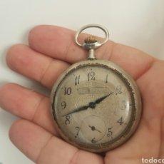 Relojes de bolsillo: ANTIGUO RELOJ DE BOLSILLO FUNCIONA. Lote 136369890