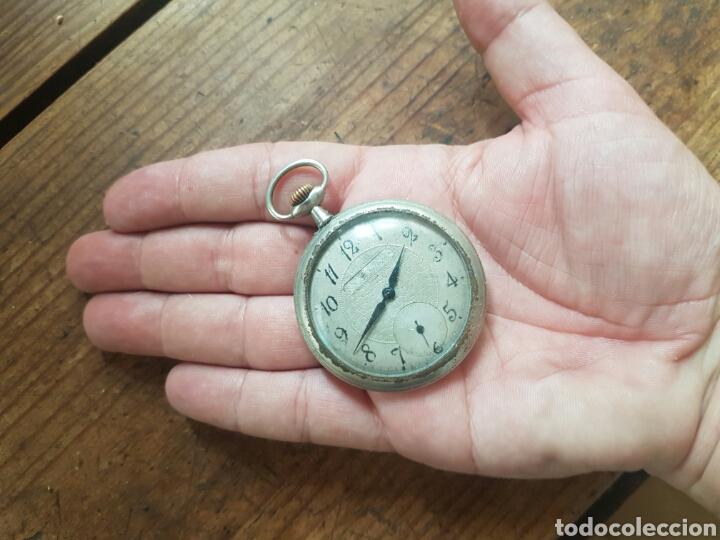 Relojes de bolsillo: ANTIGUO RELOJ DE BOLSILLO FUNCIONA - Foto 2 - 136369890