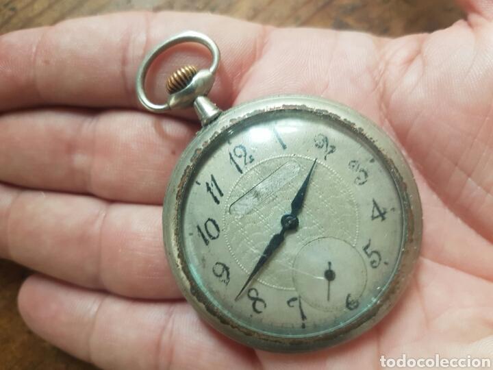 Relojes de bolsillo: ANTIGUO RELOJ DE BOLSILLO FUNCIONA - Foto 3 - 136369890