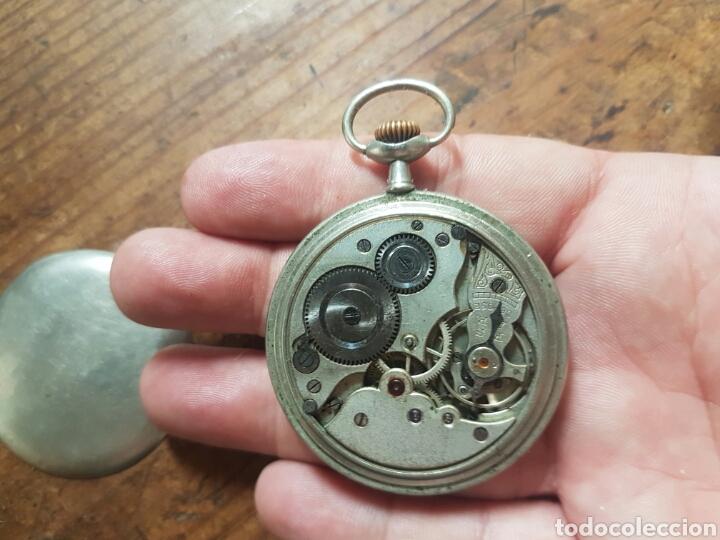 Relojes de bolsillo: ANTIGUO RELOJ DE BOLSILLO FUNCIONA - Foto 5 - 136369890