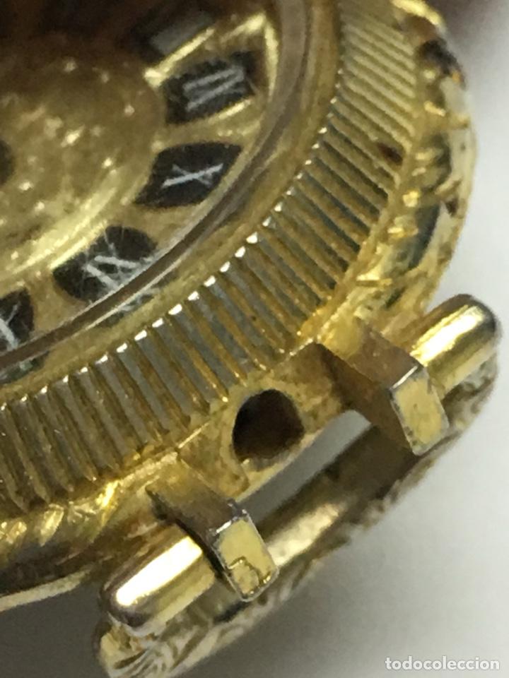 Relojes de bolsillo: Reloj de Bolsillo Lucerne con esmalte y dorado carga manual para piezas - Foto 4 - 136464878