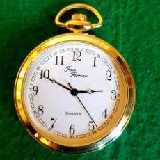 Relojes de bolsillo: RELOJ DE BOLSILLO DE CUARZO. Lote 136603502