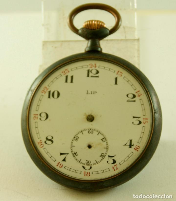 LIP DE HIERRO RELOJ DE BOLSILLO COMPLETO (Relojes - Bolsillo Carga Manual)
