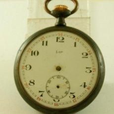 Relojes de bolsillo: LIP DE HIERRO RELOJ DE BOLSILLO COMPLETO. Lote 137105346