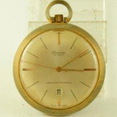 Relojes de bolsillo: SICURA DE BOLSILLO AÑOS 60/70. Lote 137105454