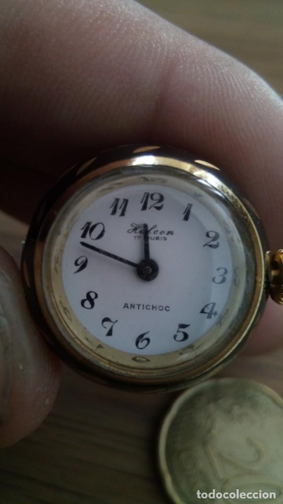 RELOJ COLGANTE HALCON (Relojes - Bolsillo Carga Manual)