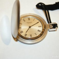 Relojes de bolsillo: RELOJ SUIZO DE CABALLERO, DE BOLSILLO. Lote 137713934
