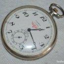 Relojes de bolsillo: ANTIGUO RELOJ DE BOLSILLO DE CUERDA HOSAM - SWISS MADE - RARO - PLATA - DE COLECCIÓN - ENVÍO 24H. Lote 137849854