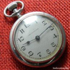 Relojes de bolsillo: CAJA DE ACERO - CABALLERO - 42 GRAMOS - 44 MNM. BUEN ESTADO - EN FUNCIONAMIENTO.. Lote 137908430