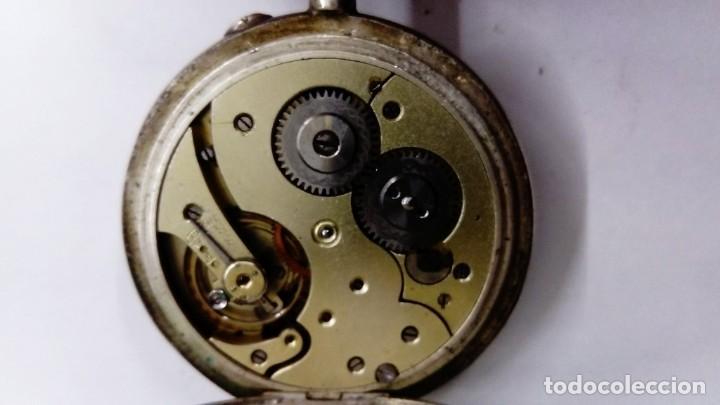 Relojes de bolsillo: Antiguo Reloj Torpedo de bolsillo - Foto 5 - 138055730