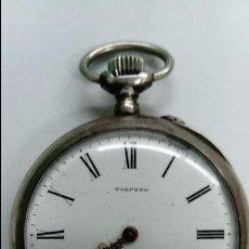 Relojes de bolsillo: ANTIGUO RELOJ TORPEDO DE BOLSILLO . Lote 138055730