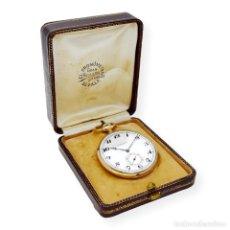 Relojes de bolsillo: LONGINES RELOJ DE BOLSILLO DE ORO DE LEY 18K PARA CABALLERO DE 1925. Lote 138095094