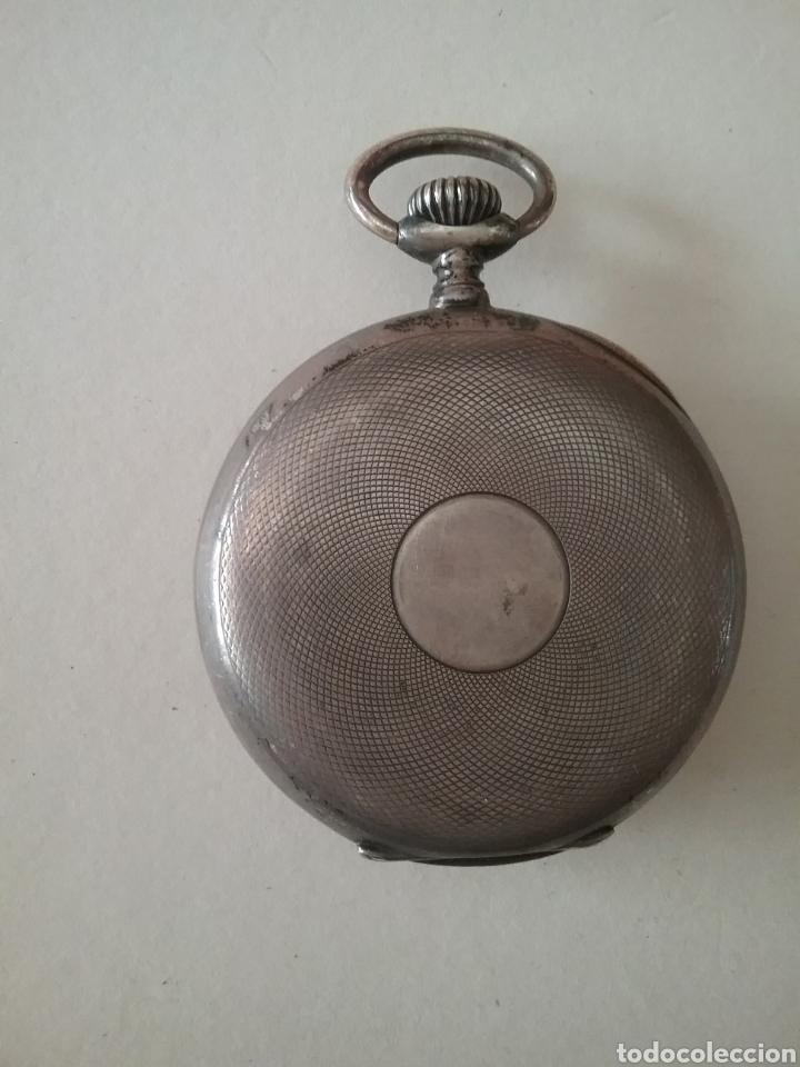 Relojes de bolsillo: Reloj bolsillo Longines en plata. Funciona - Foto 2 - 138108317