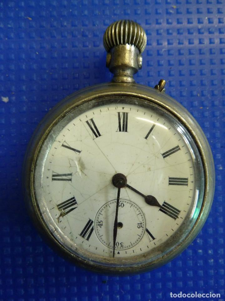 Relojes de bolsillo: RELOJ DE BOLSILLO UNIVERSAL TIME KEEPER - Foto 2 - 138579238