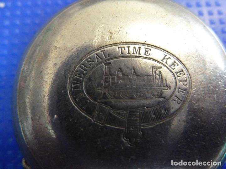 Relojes de bolsillo: RELOJ DE BOLSILLO UNIVERSAL TIME KEEPER - Foto 6 - 138579238