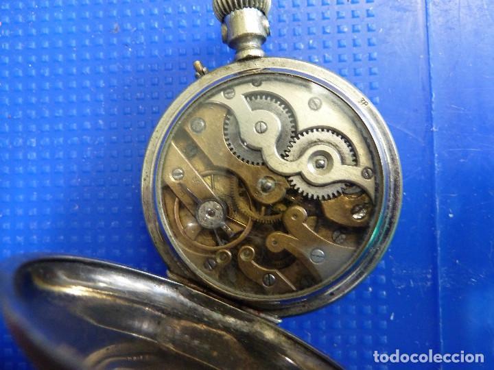Relojes de bolsillo: RELOJ DE BOLSILLO UNIVERSAL TIME KEEPER - Foto 7 - 138579238