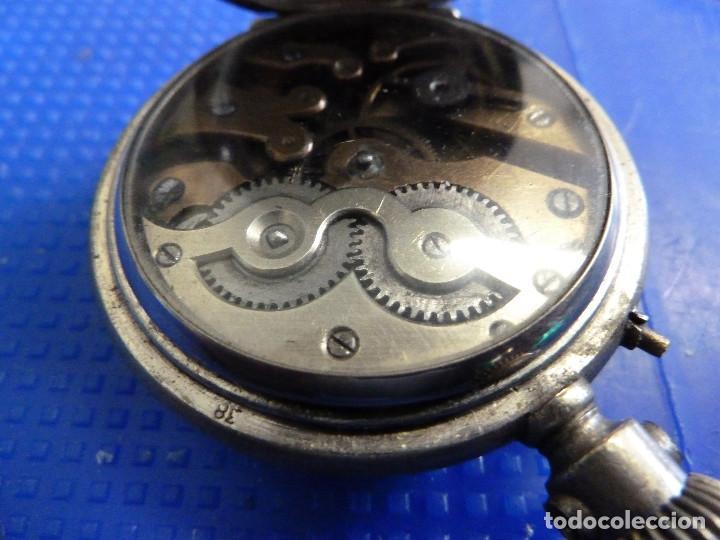 Relojes de bolsillo: RELOJ DE BOLSILLO UNIVERSAL TIME KEEPER - Foto 8 - 138579238