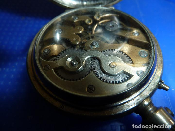 Relojes de bolsillo: RELOJ DE BOLSILLO UNIVERSAL TIME KEEPER - Foto 9 - 138579238