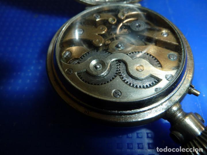 Relojes de bolsillo: RELOJ DE BOLSILLO UNIVERSAL TIME KEEPER - Foto 10 - 138579238