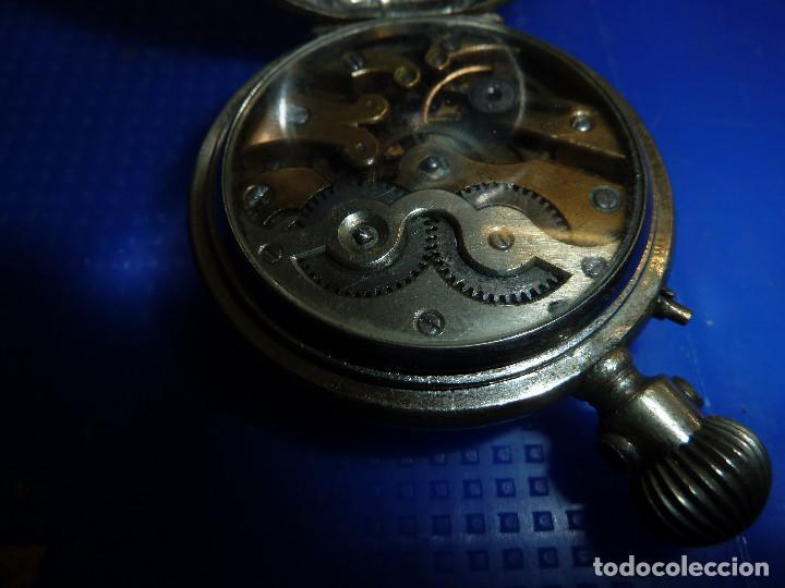 Relojes de bolsillo: RELOJ DE BOLSILLO UNIVERSAL TIME KEEPER - Foto 11 - 138579238