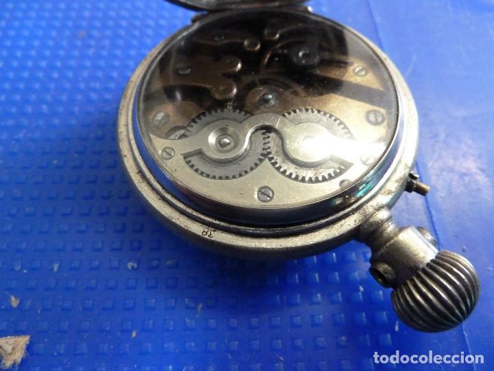 Relojes de bolsillo: RELOJ DE BOLSILLO UNIVERSAL TIME KEEPER - Foto 12 - 138579238
