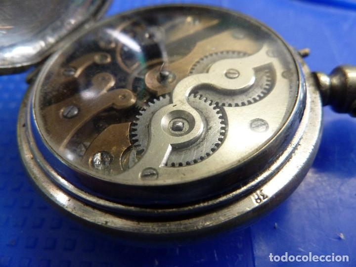 Relojes de bolsillo: RELOJ DE BOLSILLO UNIVERSAL TIME KEEPER - Foto 13 - 138579238