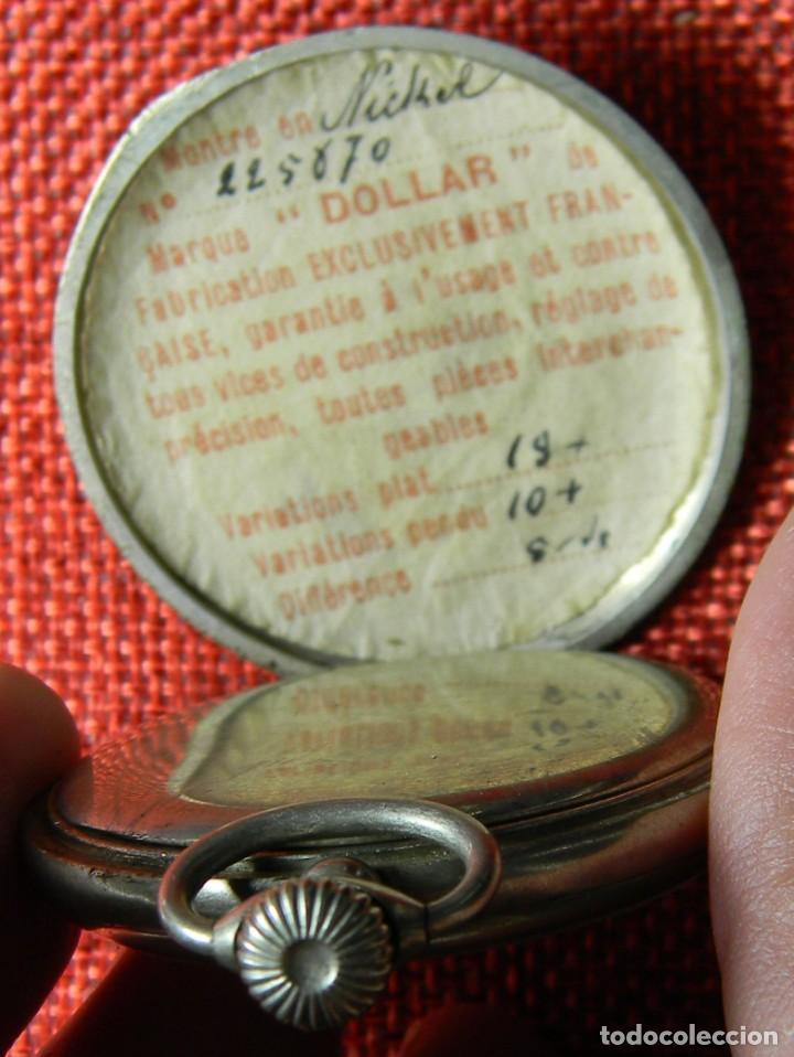 Relojes de bolsillo: Reloj de carga manual de acero . Marca Dollar - Caballero - 44 mm diametro sin corona - Foto 2 - 138687570