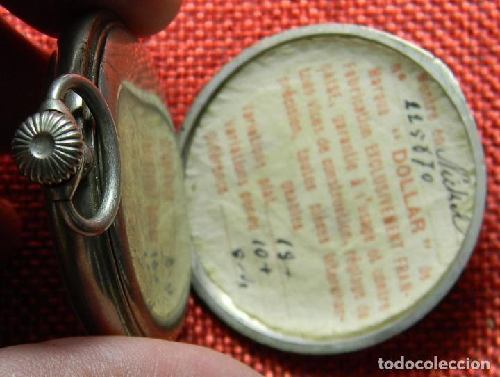 Relojes de bolsillo: Reloj de carga manual de acero . Marca Dollar - Caballero - 44 mm diametro sin corona - Foto 7 - 138687570