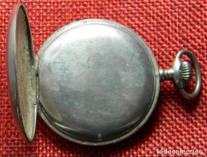 Relojes de bolsillo: Reloj de carga manual de acero . Marca Dollar - Caballero - 44 mm diametro sin corona - Foto 8 - 138687570