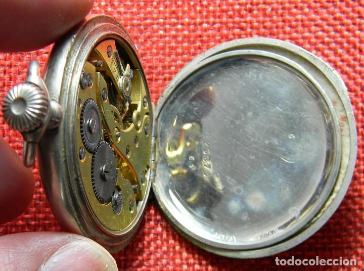 Relojes de bolsillo: Reloj de carga manual de acero . Marca Dollar - Caballero - 44 mm diametro sin corona - Foto 10 - 138687570