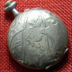 Relojes de bolsillo: RELOJ DE CARGA MANUAL SISTEMA CILINDRO . - CABALLERO - 45 MM DIAMETRO. Lote 138688598