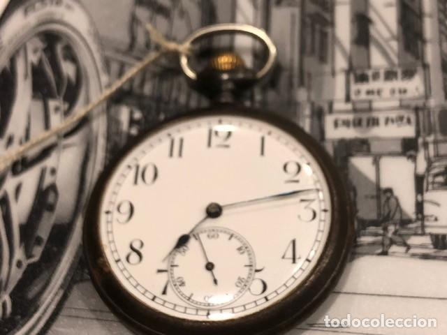 RELOJ BOLSILLO CYMA CIRCLA 1910 CAJA FERROSA MEDIDA 50 MM ,REPASADO MEJOR RELOJERO DE TC (Relojes - Bolsillo Carga Manual)